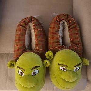 Shrek slippers, brand new.  Adult size. XXL